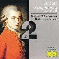 Berliner Philharmoniker, Herbert von Karajan – Mozart, W.A.: Symphonies Nos.35 - 41 [2 CD's] – CD