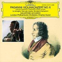 Salvatore Accardo, London Philharmonic Orchestra, Charles Dutoit – Paganini: Violin Concerto No.6; Le streghe; Non piu mesta; Sonata & Variationi