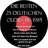 Various Artists.. – Die besten 25 deutschen Oldies bis 1985