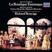 Richard Bonynge, The National Philharmonic Orchestra – Rossini-Respighi: La Boutique fantasque / Britten: Soirées musicales; Matinées musicales