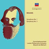 Eduard van Beinum, London Philharmonic Orchestra, Koninklijk Concertgebouworkest – Brahms: Symphonies Nos. 1 & 3