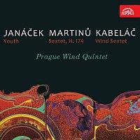 Pražské dechové kvinteto – Janáček: Mládí, Martinů: Sextet, Kabeláč: Dechový sextet