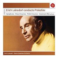 Přední strana obalu CD Erich Leinsdorf conducts Prokofiev - Sony Classical Masters