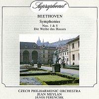 Přední strana obalu CD Beethoven: Symfonie č. 1 a 8, Zasvěcení domu