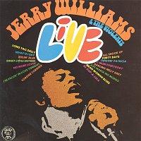 Přední strana obalu CD Jerry Williams & The Violents - Live