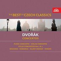 Přední strana obalu CD The Best of Czech Classics. Dvořák – Koncerty