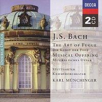 Přední strana obalu CD Bach, J.S.: The Art of Fugue; A Musical Offering
