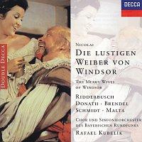 Karl Ridderbusch, Wolfgang Brendel, Alexander Malta, Helen Donath, Rafael Kubelík – Nicolai: Die lustigen Weiber von Windsor [2 CDs]