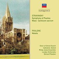 Choir of Christ Church Cathedral, Oxford, Philip Jones Ensemble, Simon Preston – Stravinsky, Poulenc: Choral Works