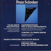 Přední strana obalu CD Schreker: Kammersinfonie - Vorspiel - Nachtstuck