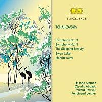 Moshe Atzmon, Claudio Abbado, Witold Rowicki, Ferdinand Leitner – Tchaikovsky: Symphonies 3 & 5 / The Sleeping Beauty / Swan Lake / Marche Slave