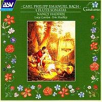 Přední strana obalu CD C.P.E. Bach: 5 Flute Sonatas