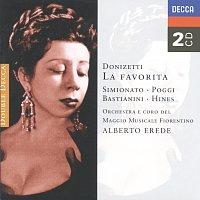 Přední strana obalu CD Donizetti: La Favorita