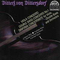 Přední strana obalu CD Dittersdorf: Koncert pro kontrabas a orchestr, Koncert pro violu a orchestr