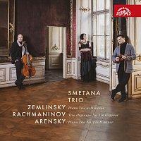 Přední strana obalu CD Zemlinsky, Rachmaninov, Arensky: Klavírní tria