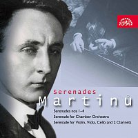 Pražský komorní orchestr /PKO/ – Martinů: Serenády – CD
