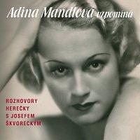 Přední strana obalu CD Adina Mandlová vzpomíná
