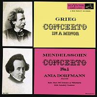 Ania Dorfmann, Robin Hood Dell Orchestra Of Philadelphia, Erich Leinsdorf, Edvard Grieg – Grieg: Piano Concerto in A Minor, Op. 16 - Mendelssohn: Piano Concerto No. 1, Op. 25