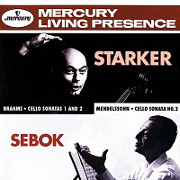 János Starker, Gyorgy Sebok – Brahms / Mendelssohn: Cello Sonatas