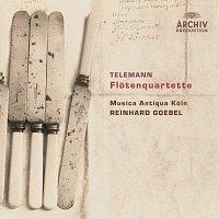 Přední strana obalu CD Telemann: Flute Quartets