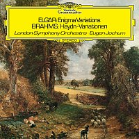 """London Symphony Orchestra, Eugen Jochum – Elgar: Variations On An Original Theme, Op. 36 """"Enigma"""" / Brahms: Variations On A Theme By Haydn, Op.56a"""