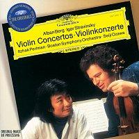 Přední strana obalu CD Berg / Stravinsky: Violin Concertos