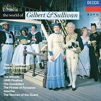 Přední strana obalu CD The World of Gilbert & Sullivan
