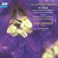 Přední strana obalu CD A Clarinet Celebration