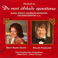 Britt-Marie Aruhn, Erland Hagegard, Symfoniorkestern Norrkoping, Okko Kamu – Melodier ur de mest alskade operetterna