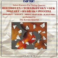 Kocianovo kvarteto – Slavné kvartetové melodie