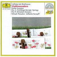 "Přední strana obalu CD Beethoven: Violin Sonatas Nos.5 ""Spring"" & 9 ""Kreutzer"""