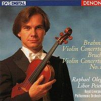 Raphael Oleg, Libor Pešek, Royal Liverpool Philharmonic Orchestra – Brahms: Violin Concerto - Bruch: Violin Concerto No. 1