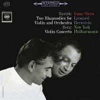 Isaac Stern, Béla Bartók, Leonard Bernstein, New York Philharmonic Orchestra – Bartók: Rhapsodies No. 1 and No. 2 - Berg: Violin Concerto (Remastered)