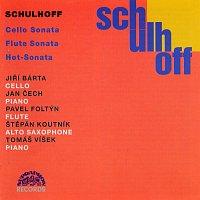 Jiří Bárta, Jan Čech, Pavel Foltýn – Schulhoff: Sonáta pro violoncello a klavír, Sonáta pro flétnu a klavír, Hot-Sonata