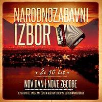 Přední strana obalu CD Nov dan nove zgodbe /Že 10 let / Narodnozabavni izbor
