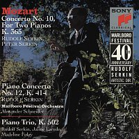 Alexander Schneider, Peter Serkin, Rudolf Serkin – Mozart: Concerto No. 10 for Two Pianos and Orchestra, K. 365; Concerto for Piano and Orchestra, K. 414; and Trio for Piano, Violin and Cello, K. 502