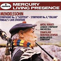 "London Symphony Orchestra, Antal Dorati, Minneapolis Symphony Orchestra – Mendelssohn: Symphony No.3 – ""Scottish"" & Symphony No.4 – ""Italian"";  Fingal's Cave Overture"