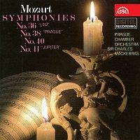 Pražský komorní orchestr, Charles Mackerras – Mozart: Symfonie č. 36, 38, 40, 41