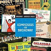 Přední strana obalu CD Composers On Broadway