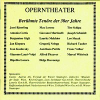 Jussi Bjorling – Operntheater - Beruhmte Tenore der 30er Jahre