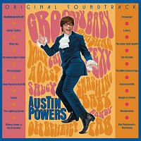 Přední strana obalu CD Austin Powers: International Man of Mystery [Original Soundtrack]
