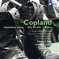 Leonard Slatkin, Eduardo Mata, Enrique Bátiz – Copland: Orchestral Works