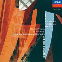 Jard van Nes, Electric Phoenix, Royal Concertgebouw Orchestra, Riccardo Chailly – Berio: Formazioni; Folk Songs; Sinfonia