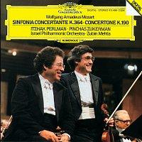 Itzhak Perlman, Pinchas Zukerman, Israel Philharmonic Orchestra, Zubin Mehta – Mozart: Sinfonia concertante K.364; Concertone K.190