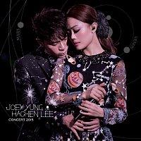 Přední strana obalu CD Joey Yung X Hacken Lee Concert 2015 [Live]