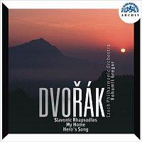 Česká filharmonie/Bohumil Gregor – Dvořák: Tři slovanské rapsodie, Můj domov, Píseň bohatýrská