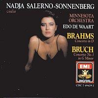 Nadja Salerno-Sonnenberg, Edo de Waart, Minnesota Orchestra – Brahms & Bruch: Violin Concertos
