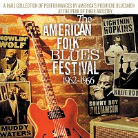 Přední strana obalu CD The American Folk Blues Festival