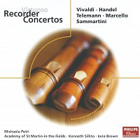 Michala Petri, Academy of St. Martin in the Fields, Iona Brown, Kenneth Sillito – Virtuoso Recorder Concertos