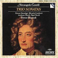 Trevor Pinnock, William Pleeth, Simon Standage, Michaela Comberti, Nigel North – Corelli: Trio Sonatas Op. 1 No.1; Op. 2 No. 6; Op. 1 No. 9; Op. 2 No. 9; Op. 1 No. 3; Op. 2 No. 4; Op. 1 No. 7; Op. 2 No. 12; Op. 1 No. 11; Op. 1 No. 12